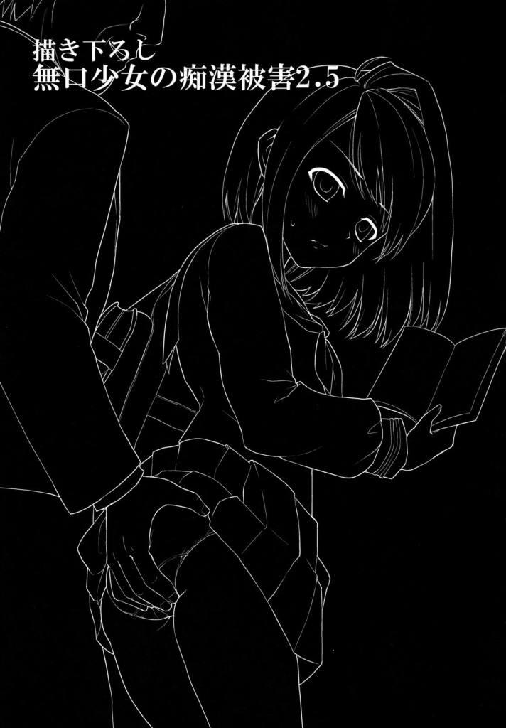 ワイ痴漢…無口で大人しい少女に喘ぎ声を上げさせるのマジ興奮【エロ同人誌・オリジナル】