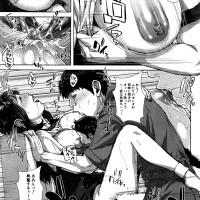 【エロ漫画】偶然再会した元カレと子供を抱きながら不倫セックスする不埒な奥様www