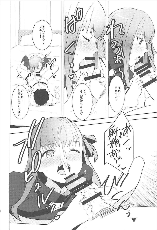 【エロ同人誌】BBの差し金でマスターにオマ○コをくぱぁしてズボズボされちゃうメルトwww【Fate/Grand Order/C93】