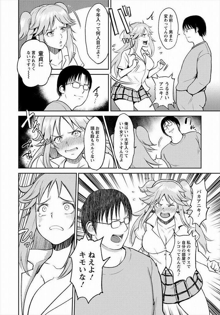 【エロ漫画】兄のことが大好きでセックスしたいのに他の男で我慢する妹が最終的に兄とセックスするとかwww