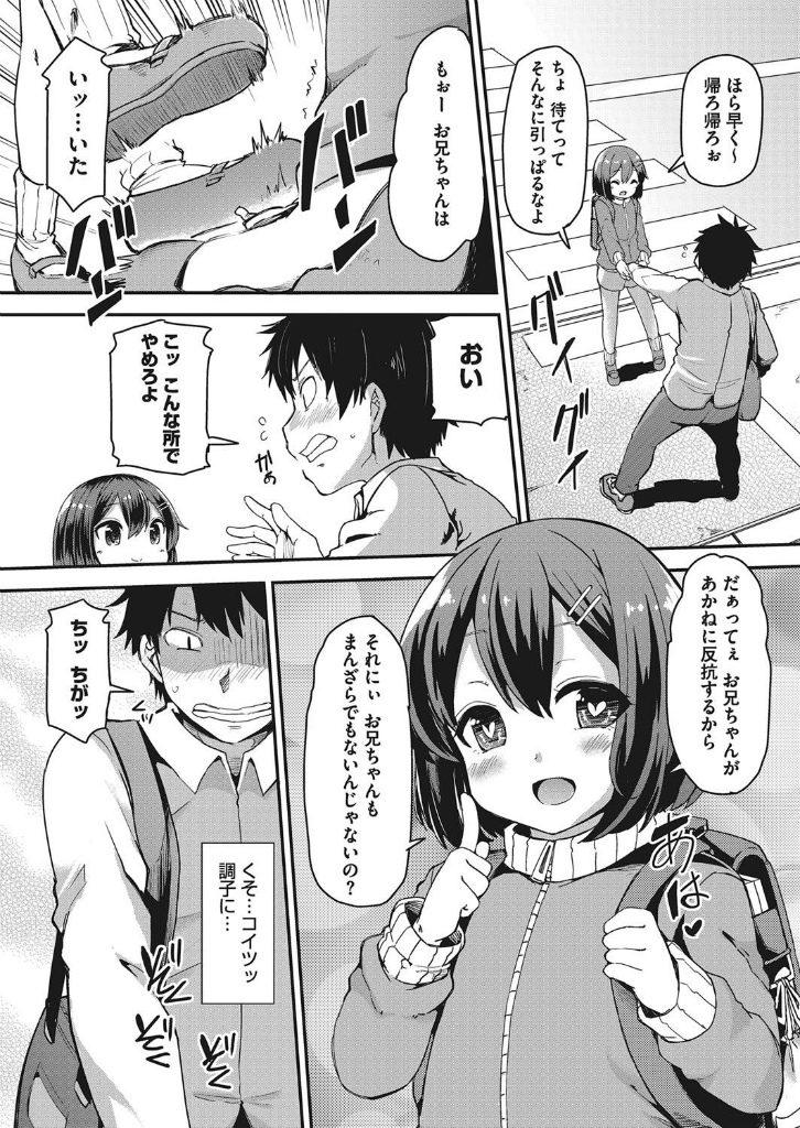 【エロ漫画】兄のことをずっといじめる妹が実は大好きなことが判明して近親相姦しちゃうとかwww