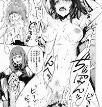 【エロ漫画】女子高生達を調教してペニバンなしでは生きられなくしたと思ったら変態女達も参戦してきて乱交セックスが始まったwww