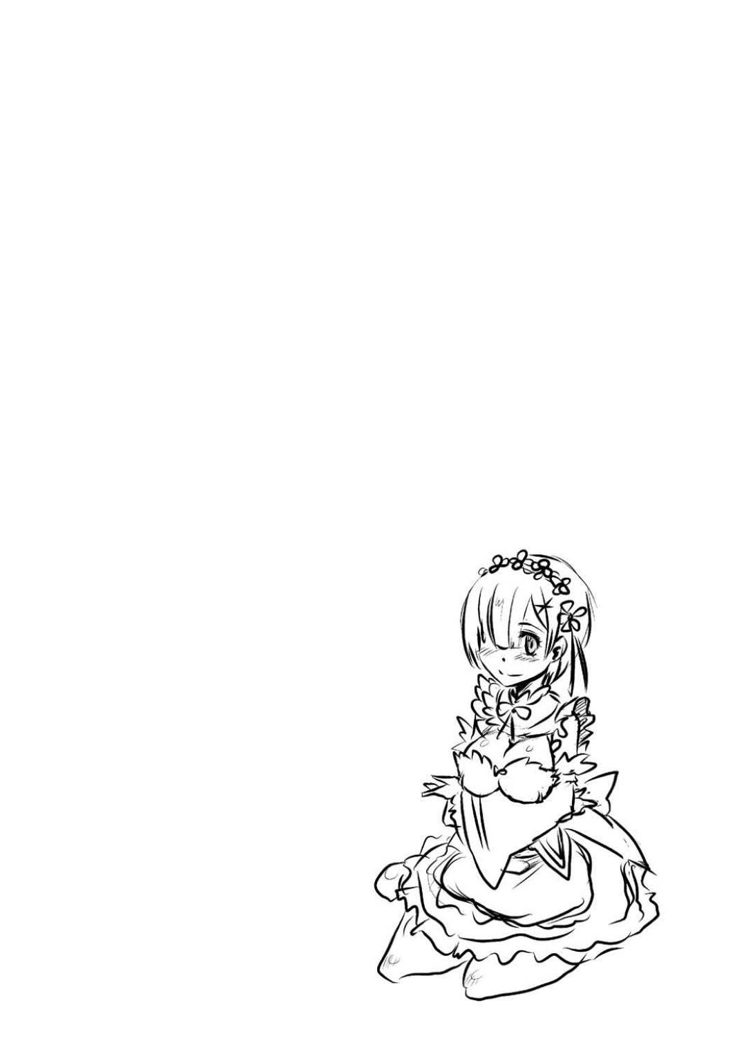 【エロ同人誌】拘束されたスバルの目の前で鬼畜男たちに犯されるレム…無理やり処女を奪われたあと交代で激しく輪姦され連続中出し陵辱レイプで寝取られ絶頂【Re:ゼロ】